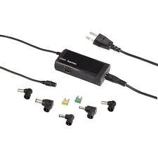 Hama Notebook Netbook Netzteil, 12-19 Volt, 50 Watt, +5 Adapter 2 USB Port 54105