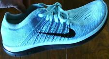 NIKE Free 4.0 Flyknit 631050-402 Amputee RIGHT SHOE ONLY 8 Glacier Ice Blue MINT