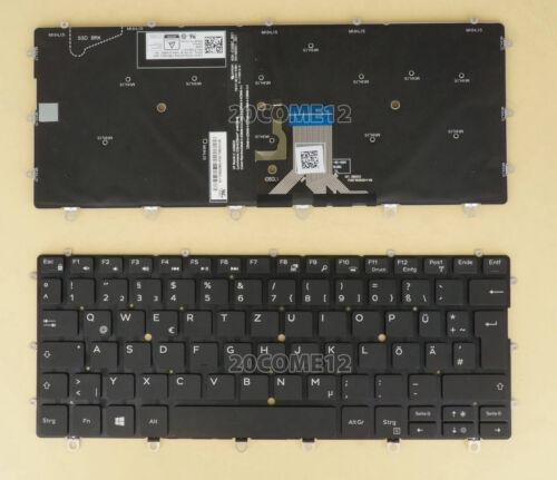 New For DELL XPS 9365 2 IN 1 Keyboard German Tastatur Backlit Black