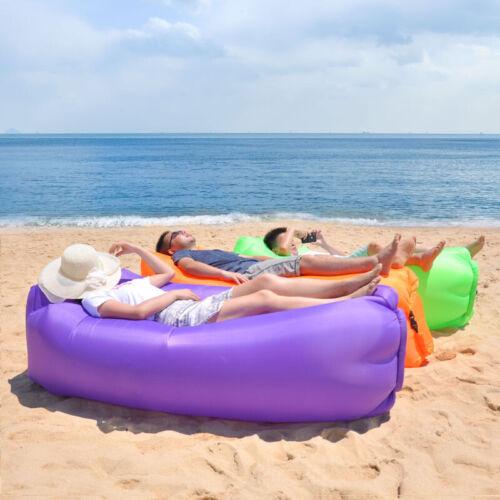 Fast Inflatable Lounger Air Sofa Lightweight Outdoor Sleeping Bag Folding Sofa