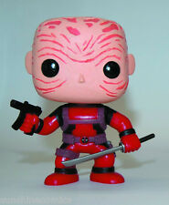 Pop Marvel Deadpool PX Red Maskless Figure Funko BRAND NEW