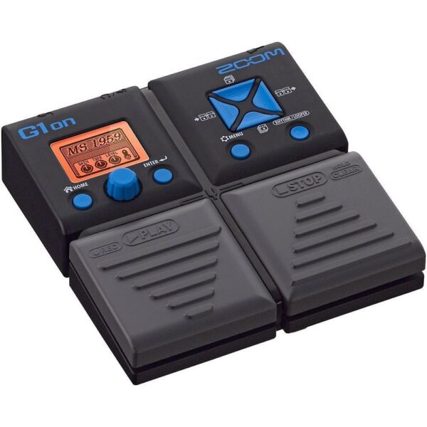 zoom g1on multi effects guitar effect pedal for sale online ebay. Black Bedroom Furniture Sets. Home Design Ideas