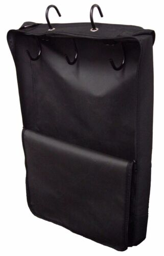 Large Horse//Pony//Equestrian Heavy Duty Bridle Halter Carry Bag In Black