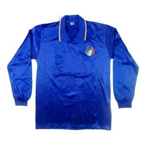 1986-87-Italia-Maglia-Home-21-Match-worn-Top-SHIRT-MAILLOT-TRIKOT