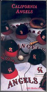 California-Angels-1993-Media-Guide