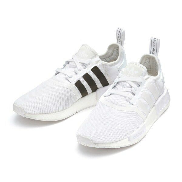 ADIDAS NMD R1 SHOES WHITE CQ2411 US MENS SZ 4-11