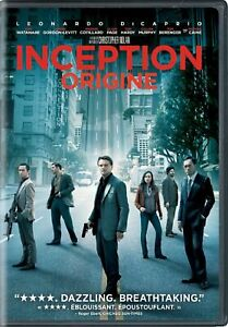 Inception-DVD-2010-Canadian-Bilingual-FREE-SHIPPING-IN-CANADA