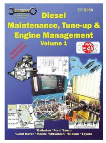 MAX Ellery MOTORE TUNING /& manuale di manutenzione ep.d050 DAIHATSU FOURTRAK /& ROCKY