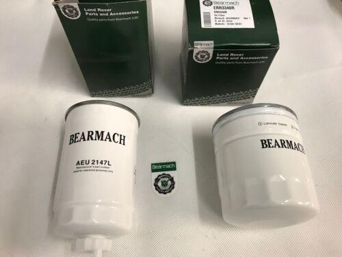 Bearmach Land Rover 200tdi /& 300tdi  Fuel /& Oil Filter BR0278r /& ERR3340r