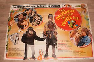 A0 Filmplakat  IM DSCHUNGEL IST DER TEUFEL LOS, JIM MITCHUM ,TOMMY OHNER,JENNY J
