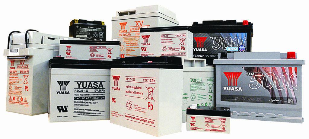 Yuasa 12V / 6V 1Ah to 105Ah Spotlight Batteries