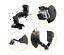 GoPro-CASCO-DA-MOTO-MOUNT-girevole-per-Hero-3-4-5-6-7-ACTION-CAMERA-Session miniatura 5