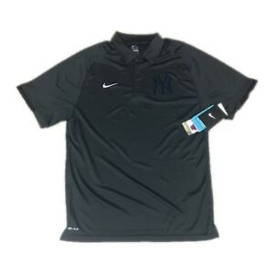 157ef9aa NEW NWT New York Yankees Nike Dri-Fit AC Training Performance Polo ...