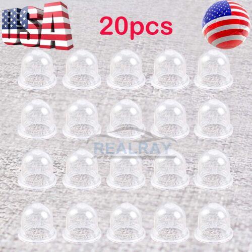 100pcs Primer Bulbs For Stihl Homelite Ryobi For Zama Poulan Gas Fuel Bulb Pump