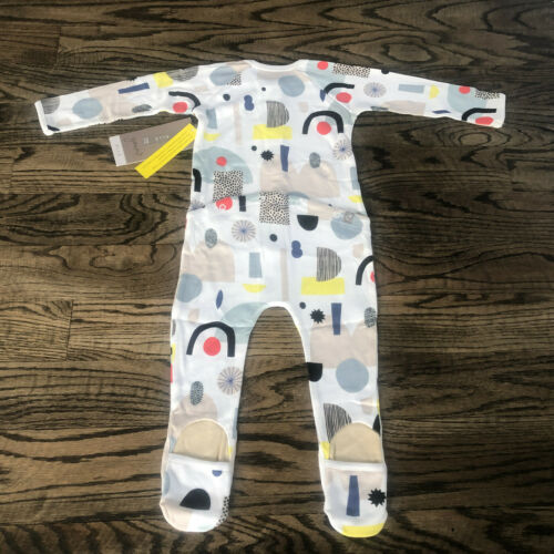 Goumi Organic Snap Footie Pajamas Limited Edition Dream Big 9-12 months NWT $40