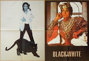 Image Is Loading Michael Jackson Poster LARGE From BW Magazine Thriller