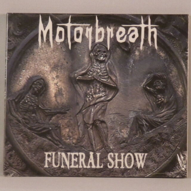 MOTORBREATH Funeral Show (Digipak CD 2006 Self Released) (NEW SEALED)