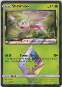 Shaymin Prism 10//181 Pokemon Card Team Up