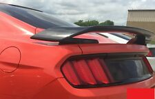 FOR FORD MUSTANG GT350R Inspired 2-Post Primered Rear Spoiler FITS 2015-2016