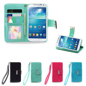 IZENGATE-ID-Wallet-Flip-Case-PU-Leather-Cover-Folio-for-Samsung-Galaxy-S4