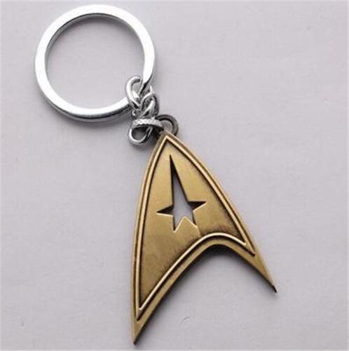 Star Trek Shield Metal Keychain Pendant Key Chain Key Ring Key Chain Xmas Gift *
