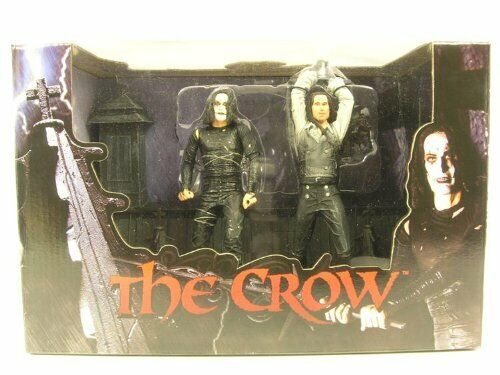 Neca The Crow Rooftop battle 2 Figure Boxset Eric Draven Top Dollar