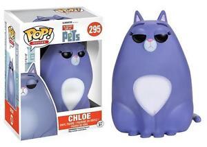Funko-POP-Movies-The-Secret-Life-of-Pets-Flocked-Chloe-295-Vinyl-Figure-NEW