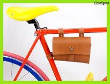 Borsa Attacco al telaio per bicicletta - ideale per Fixed/Scatto Fisso - Miele