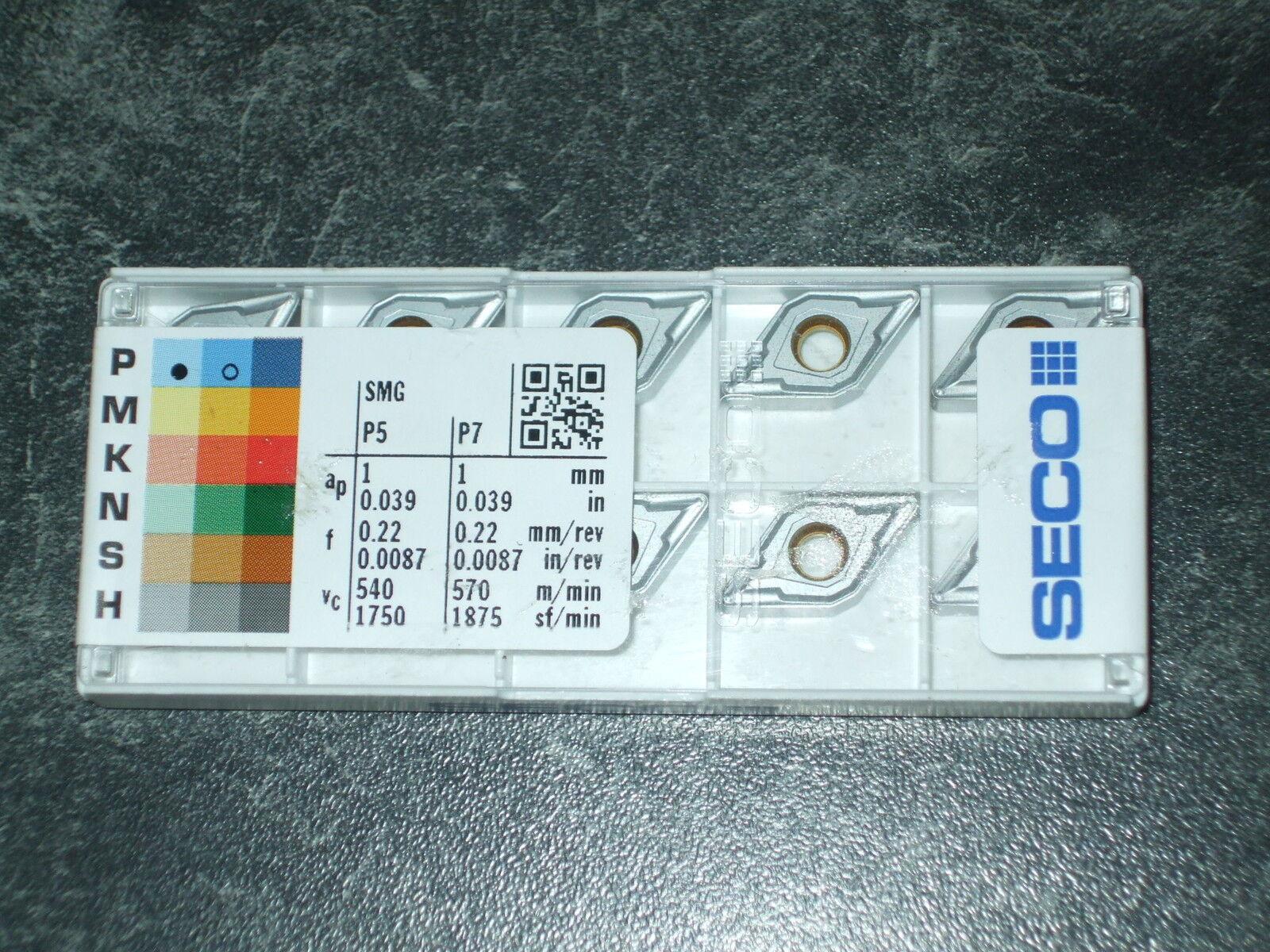 Seco 10 x DNMU110408 -MF2 TP0501