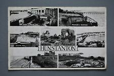 R&L Postcard: Hunstanton Multiview, Cliffs/Lighthouse/Bandstand etc