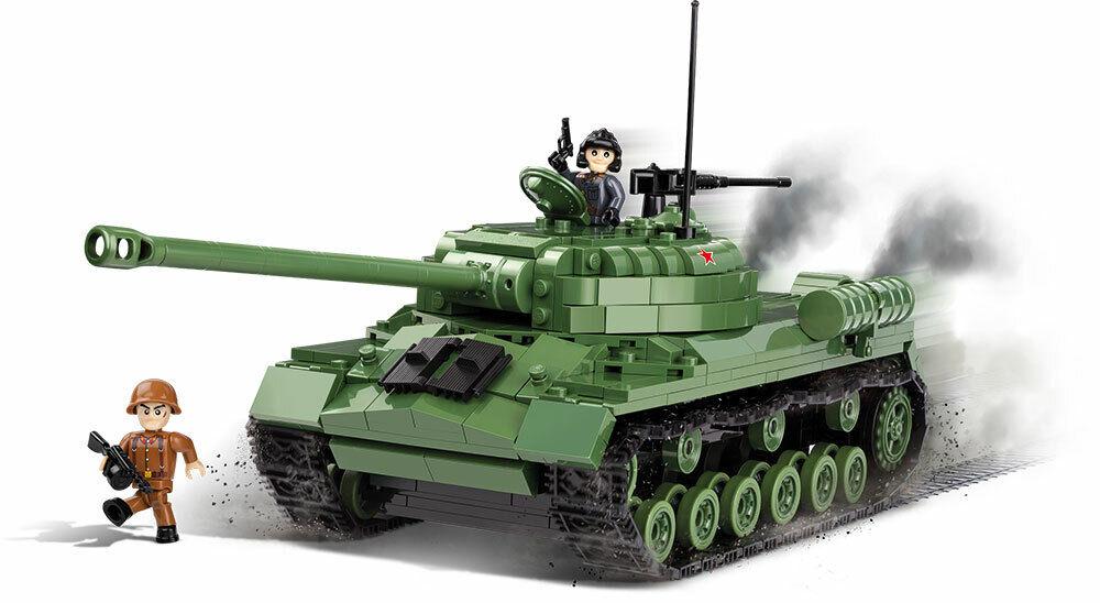 Konstruktion Spielzeug Bausteine Sowjetischer Panzer IS-3  COBI 2492
