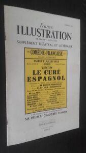 Revista Francia Illustration N º 146 Theatre París 1953 ABE