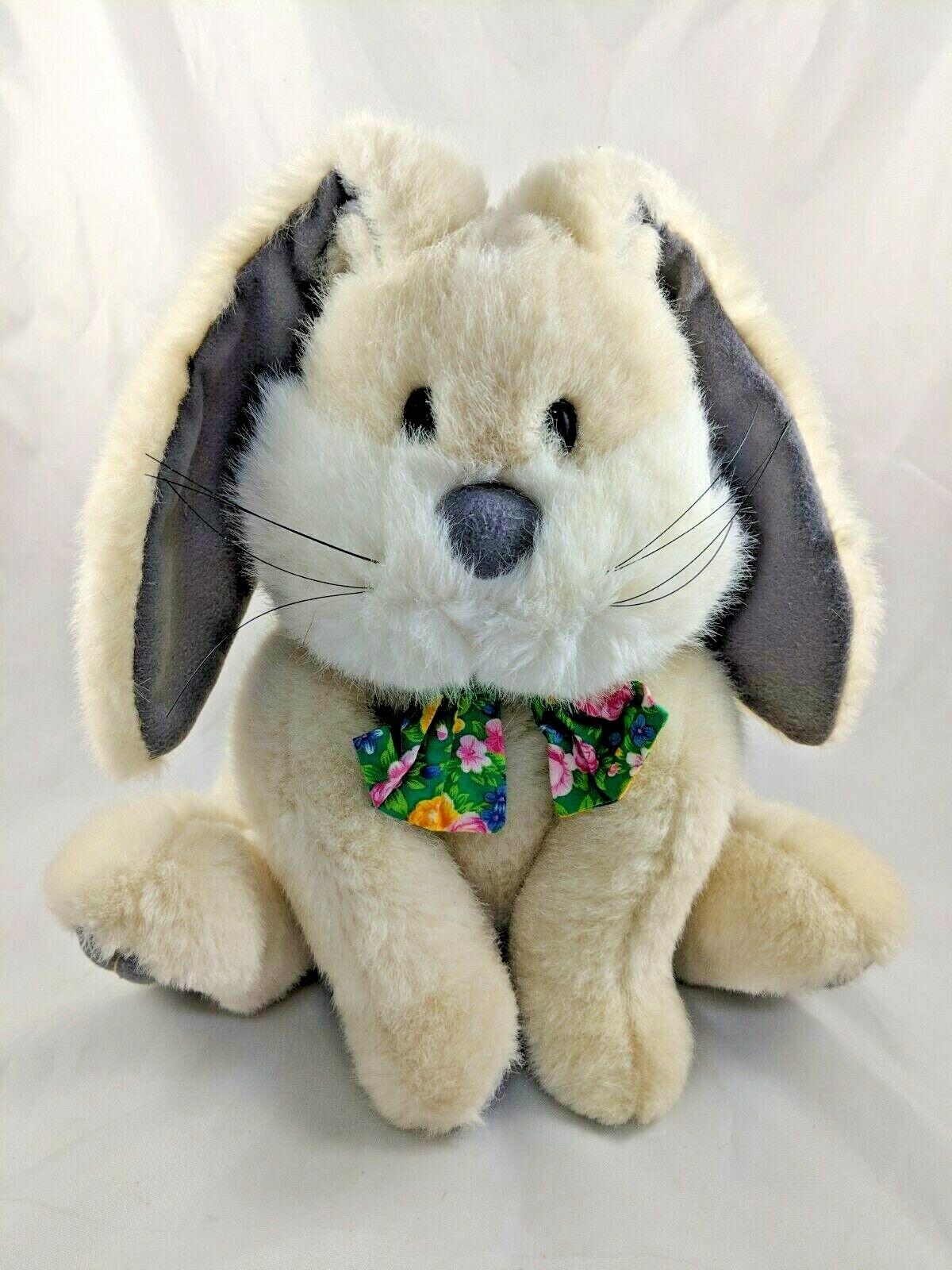 Mary Meyer Rabbit Plush Bunny 12  Vintage Stuffed Animal