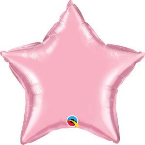 PINK-STAR-BALLOON-20-034-STAR-PEARL-PEARL-PINK-QUALATEX-PARTY-SUPPLIES-BALLOON