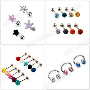 Cartilage-Crystal-Earring-Labret-Tragus-Lip-Nose-Bar-Ear-Stud-Ring-Body-Piercing