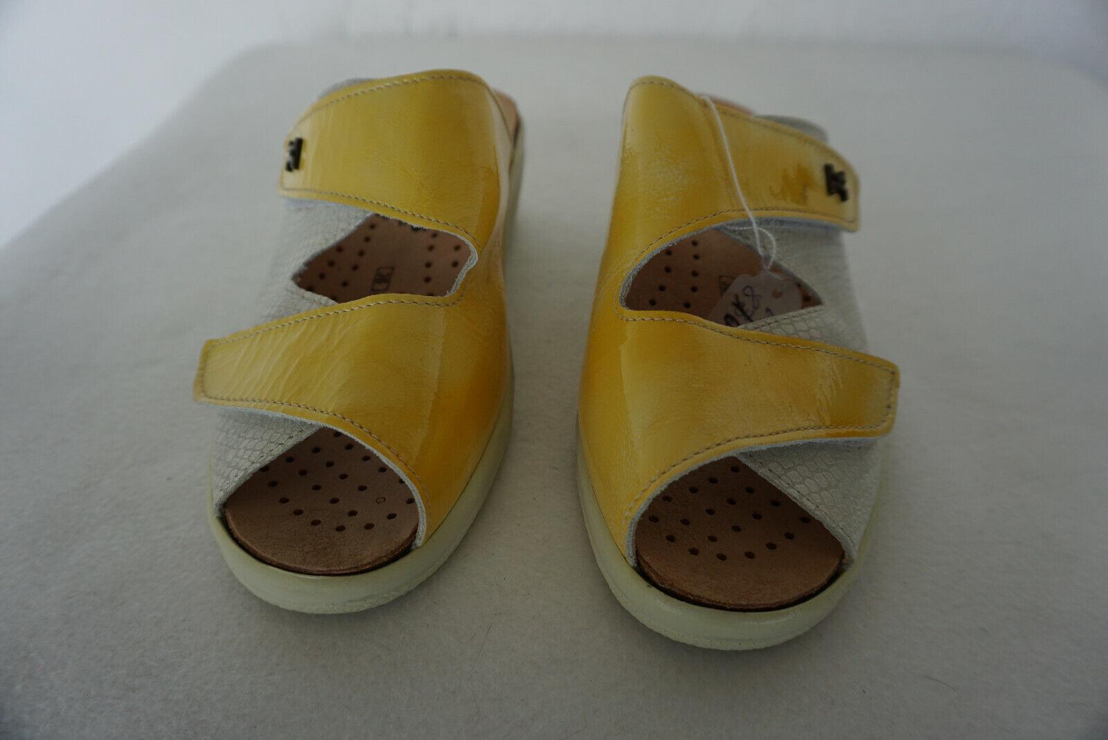 Orthopédiques Hartjes femmes Sandales Été chaussures Sabots velcro Taille 36 cuir Neuf