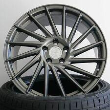 """19"""" Keskin KT17 Palladium ET45 Concave Alufelgen für VW Golf 6 R Typ 1K"""