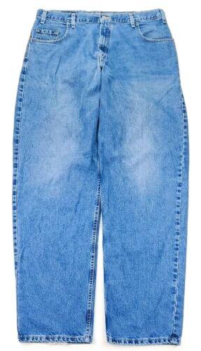 Vintage Levis Silver Tab Mens Baggy Jeans Size 38X