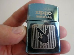 ZIPPO-B-05-PLAYBOY-ENCENDEDOR-GASOLINA-MECHERO-LIGHTER-FEUERZEUG-ACCENTINO