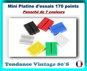 Breadboard PCB Arduino Jaune 5x Platines d/'essais 170 contacts