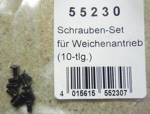 Piko-55230-Schraubenset-fuer-Weichenantrieb-10tlg-NEU