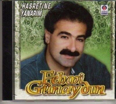 (bl404) Fehmi Gunaydin, Hasretine Yanarim - Cd Met Een Langdurige Reputatie