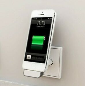 iphone 5 ipod wall dockingstation ladeger t idock wandhalterung ladekabel aus d ebay. Black Bedroom Furniture Sets. Home Design Ideas