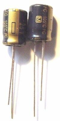 22UF 63V 105c Low ESR Size 6.3x11.2mm Panasonic EEUFC1J220  x10pcs