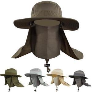 Outdoor-Unisex-Brim-Sun-Block-Quick-Drying-Fishing-Sun-Cap-Climbing-Bucket-Hat-Q