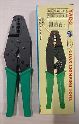 Other Dj Equipment Dj Equipment Supply Yac-3 Coax Crimping Tool Pure Whiteness