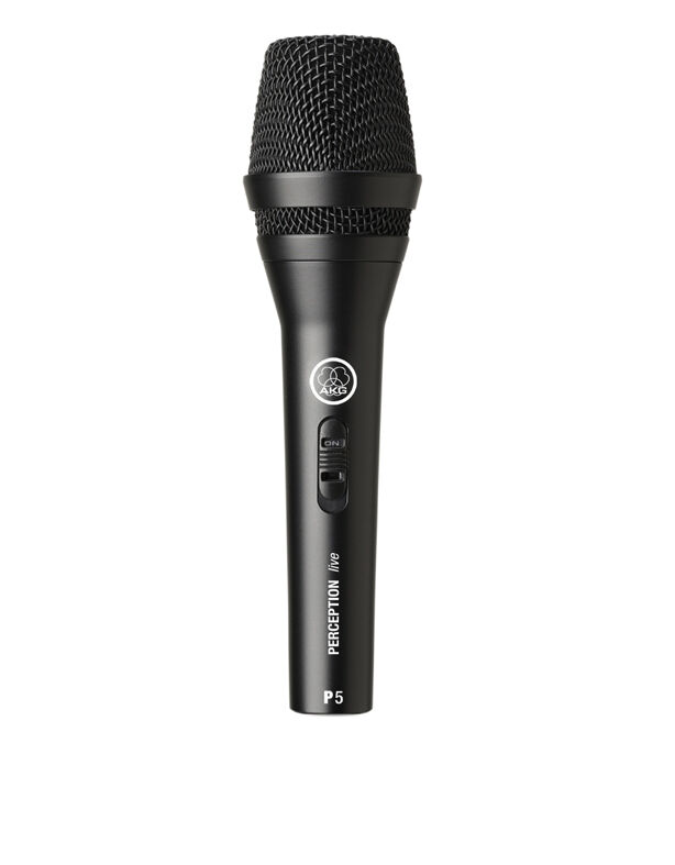 AKG P5S Dynamic Super Cardoid Handheld Microphone 600 Ohm With Stand Adaptor & Z