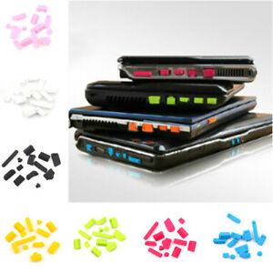 2Sets-Ports-Cover-Set-Silicone-Anti-Dust-13PcsPlug-Stopper-For-LaptopNotebook-SG