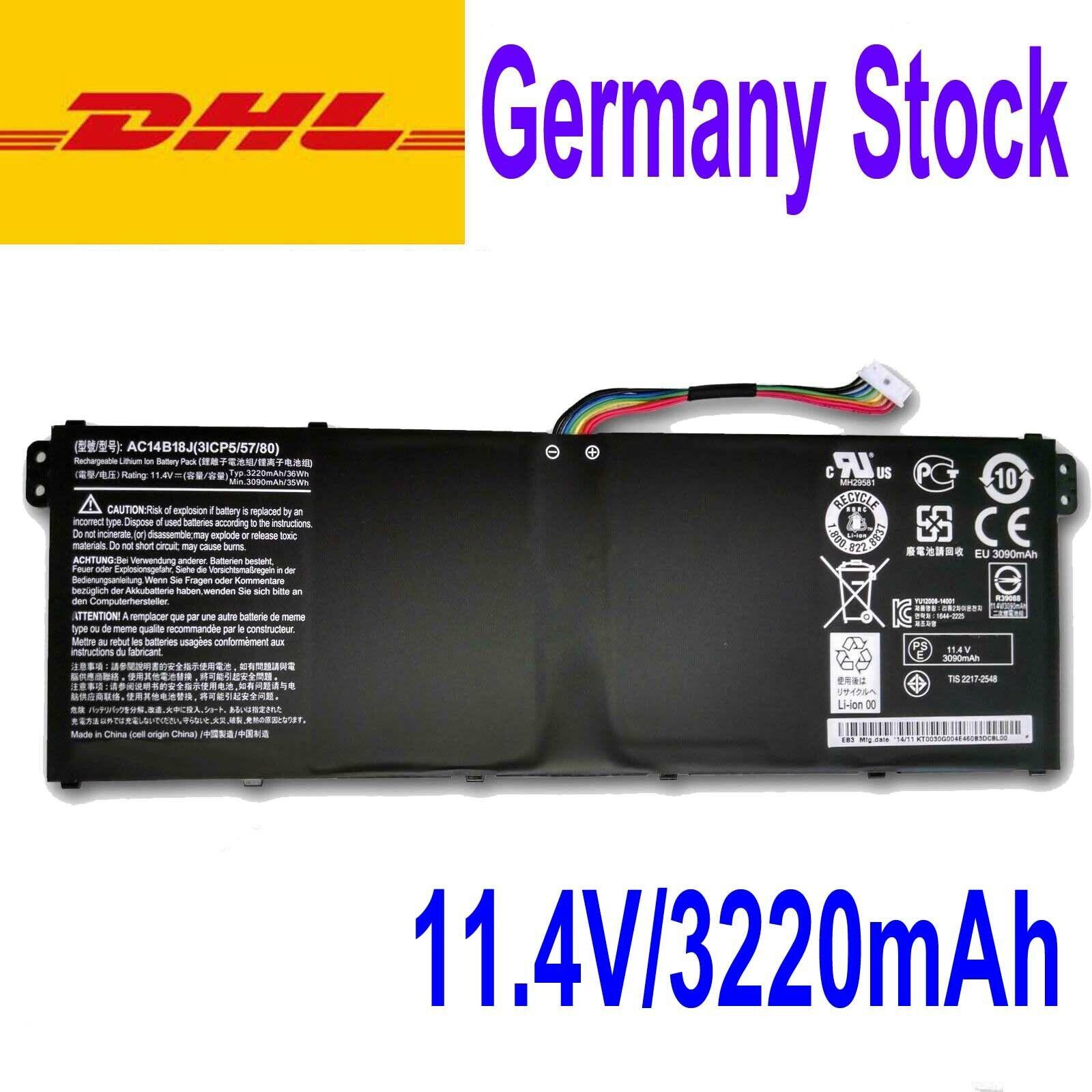 New AC14B18J AKKU für Acer Chrombook 11 CB3-111,13 C810,13 CB5-311,15 CB5-571 | Ausgezeichnete Qualität