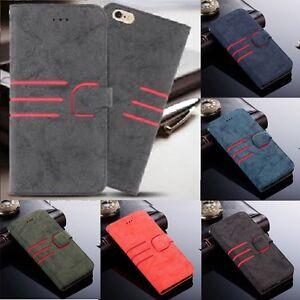 NUOVO-LUSSO-Magnetico-Flip-Stand-Cover-ASTUCCIO-PER-Portafoglio-di-pelle-iPhone